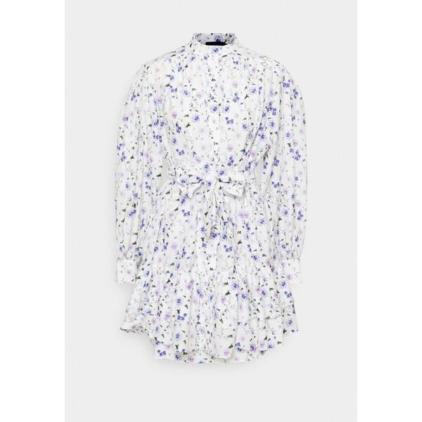 The Kooples DRESS Sukienka koszulowa ecru/lavender THA21C08H