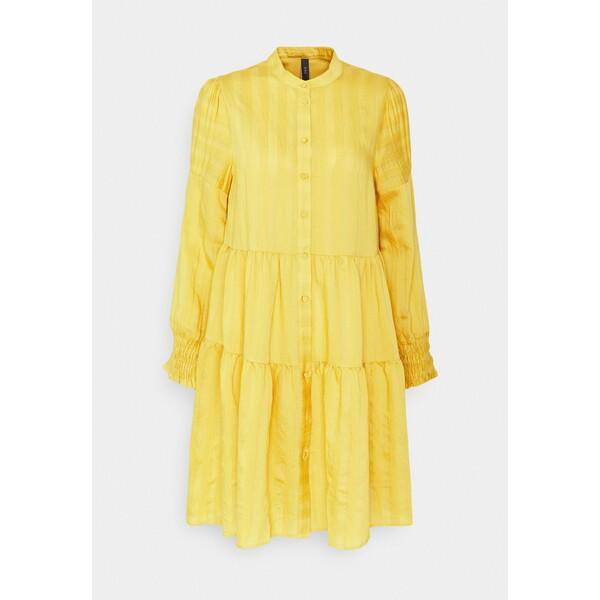 YASSUN SHIRT DRESS Sukienka letnia ceylon yellow Y0121C1HC