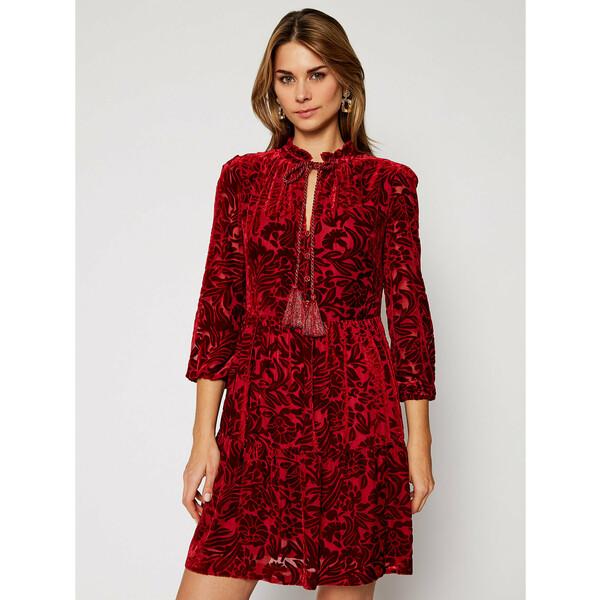 Luisa Spagnoli Sukienka codzienna Generis 537572 Czerwony Regular Fit