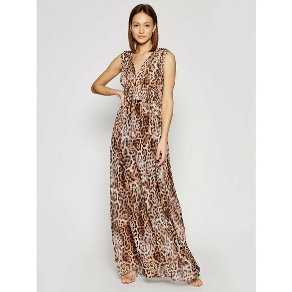 Marciano Guess Sukienka wieczorowa 1GG723 7068Z Brązowy Regular Fit