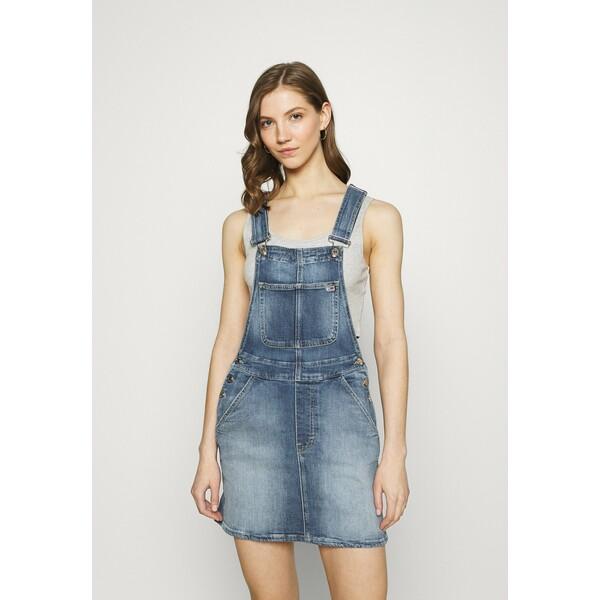 Tommy Jeans Sukienka jeansowa blue denim TOB21C04W