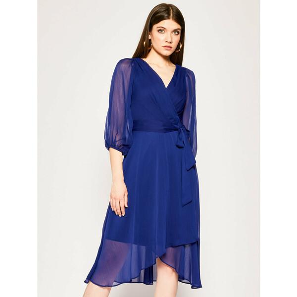 DKNY Sukienka koktajlowa DD0AI570 Granatowy Regular Fit