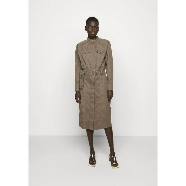 Bruuns Bazaar BASIL VALENTEEN DRESS Sukienka koszulowa bungee brown BR321C07N
