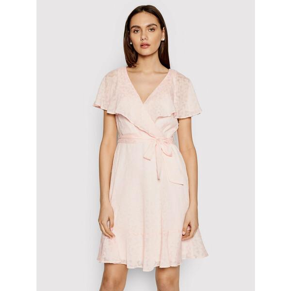 DKNY Sukienka codzienna DD1BE436 Różowy Regular Fit
