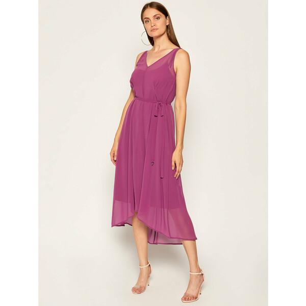 DKNY Sukienka koktajlowa P0CAGESL Fioletowy Regular Fit
