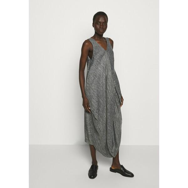 Henrik Vibskov FLOW DRESS Sukienka letnia black/white HEN21C015