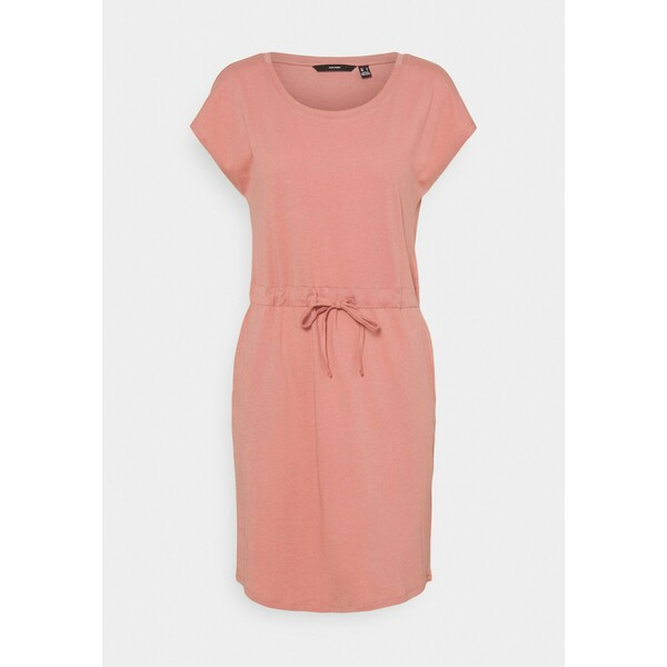Vero Moda VMAPRIL SHORT DRESS COLOR Sukienka z dżerseju old rose VE121C1QC