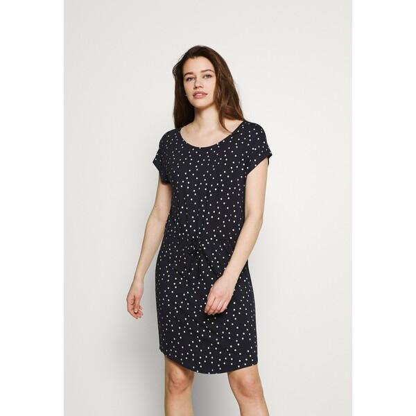 ONLY ONLMILLIE BELT DRESS Sukienka z dżerseju night sky/silver ON321C2AQ