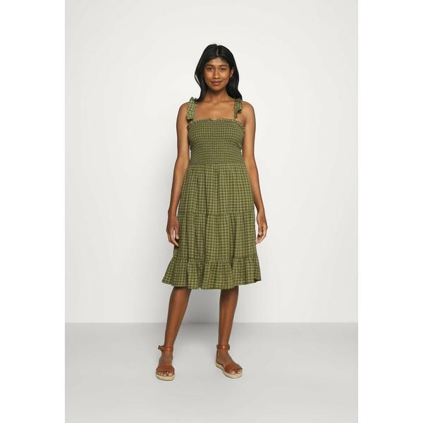 ONLY ONLPELLEA LIFE STRAP DRESS Sukienka letnia capulet olive ON321C2CT