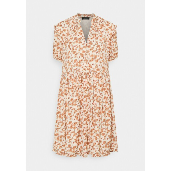 Selected Femme POLINE PAULINA Sukienka letnia birch/flower SE521C0Z8