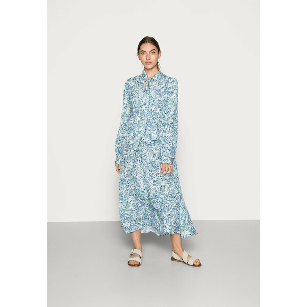 ARKET Długa sukienka blue aop ARU21C01Q