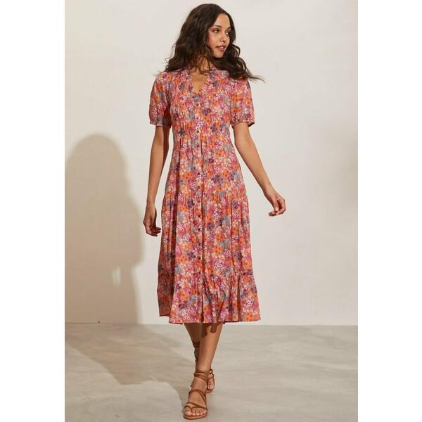 Odd Molly REESE Sukienka letnia vintage orange 1OD21C01T