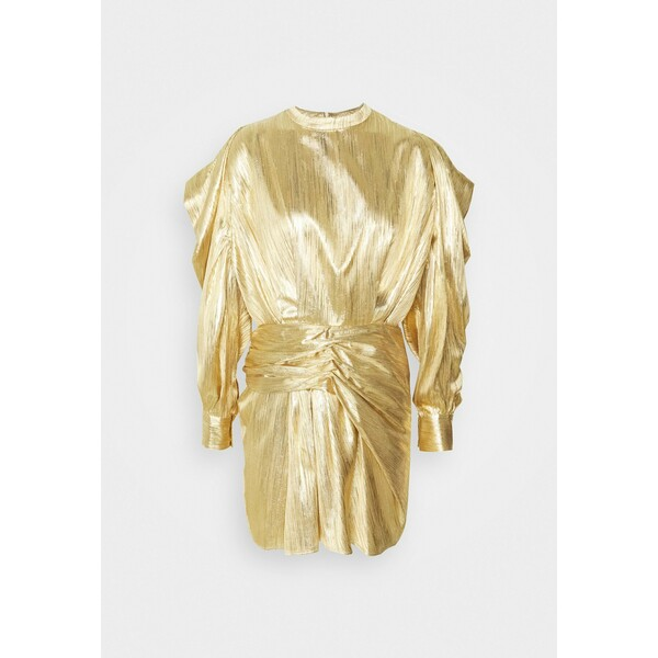Iro ODELL Sukienka koktajlowa gold IR221C01S