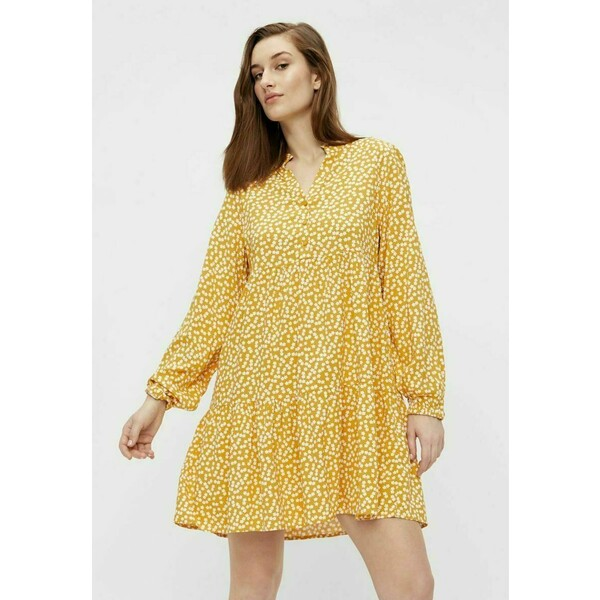 Object Sukienka letnia yellow OB121C0TP