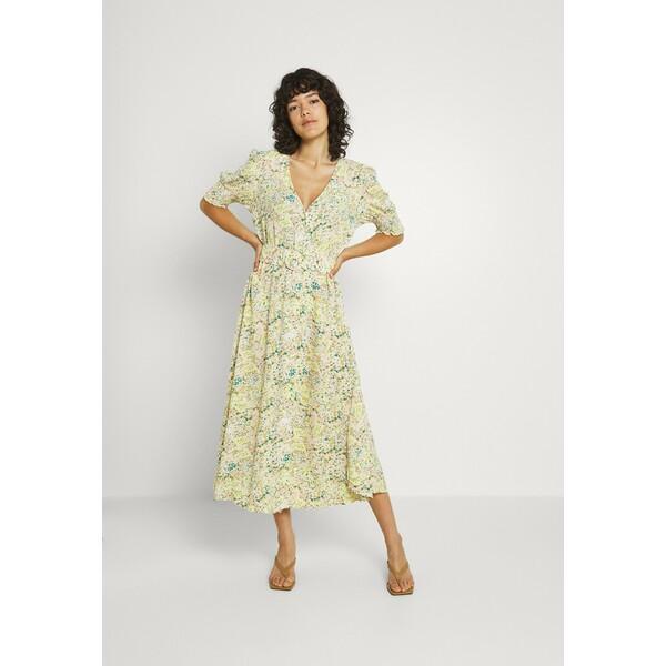 YASSTENCIL MIDI DRESS Sukienka letnia eggnog Y0121C1MQ
