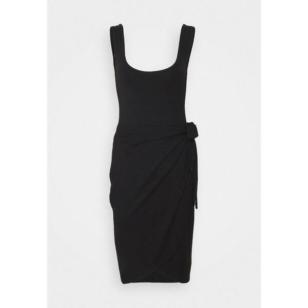 Anna Field Sukienka z dżerseju black AN621C1O1