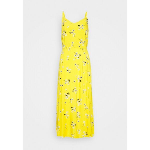 Gap Tall CAMI MIDI Sukienka letnia yellow GAH21C00Y