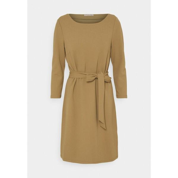 Anna Field Sukienka z dżerseju brown AN621C1KL