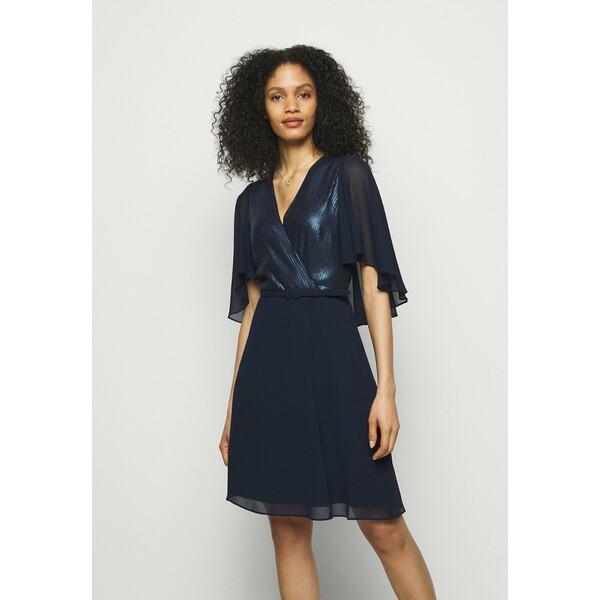 Lauren Ralph Lauren GRACEFUL DRESS Sukienka koktajlowa lighthouse navy L4221C16Q