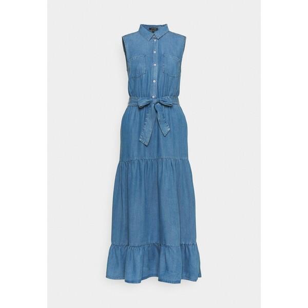 More & More DRESS Sukienka jeansowa mid blue denim M5821C0L9