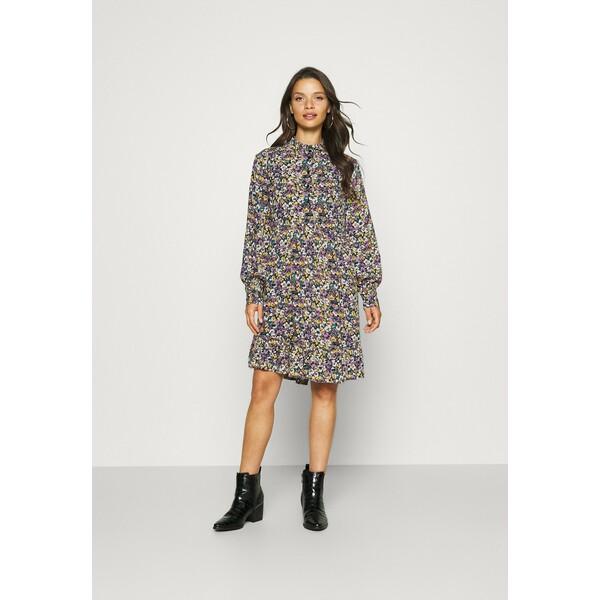 YAS Petite YASPLICCA DRESS Sukienka koszulowa black YA521C02Q