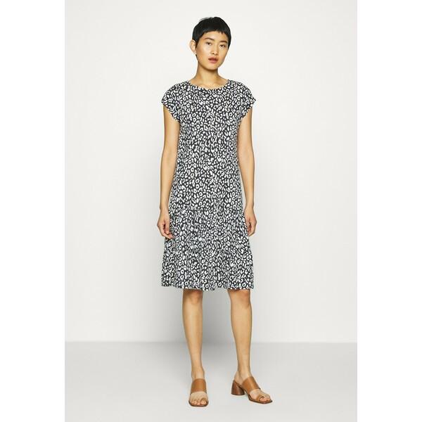 Cartoon Sukienka z dżerseju dark blue/white C0421C091