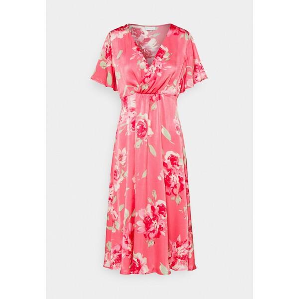 Vila VIALBERTE ANCLE DRESS Sukienka koktajlowa azalea pink V1021C2IR