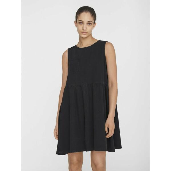 Noisy May NMCAROLINA SMOCK DRESS Sukienka jeansowa black NM321C0J2