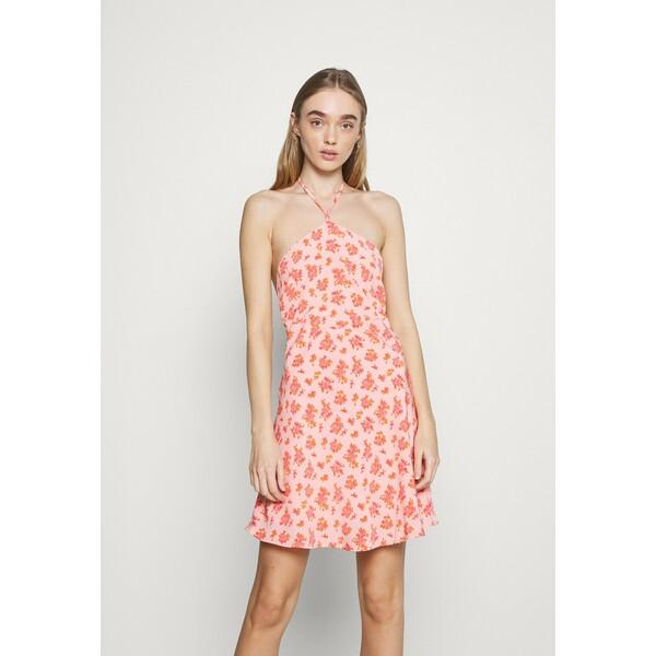 Fashion Union MAMBO DRESS Sukienka letnia pink posey FAA21C0E9