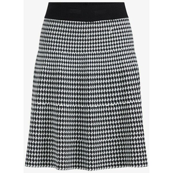 WE Fashion MET DESSIN Spódnica trapezowa black WF521B032