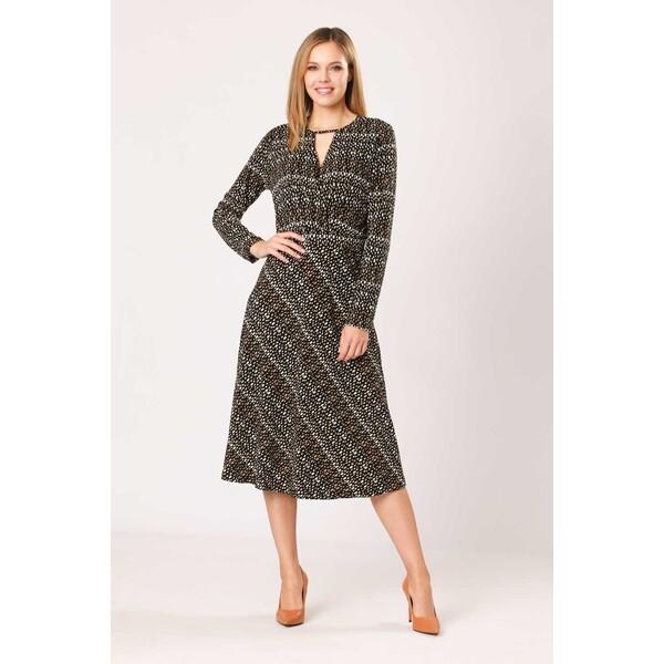 Quiosque Wzorzysta sukienka 4NP005155