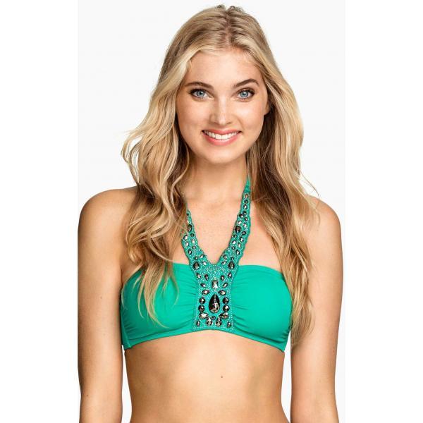 H&M Bikini top 0168428010 Green