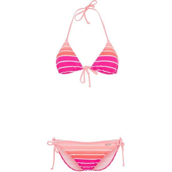 Venice Beach Bikini pink striped 2VE41H007