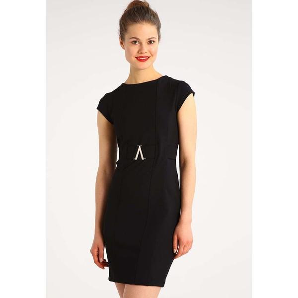 Anna Field Sukienka etui black AN621CAD4