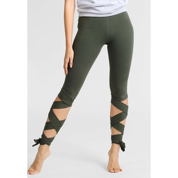 Free People MOTION Legginsy moss FP041E00H