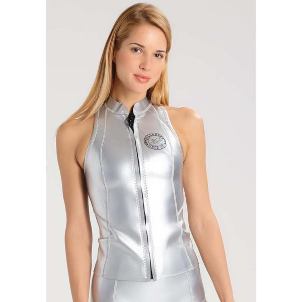 Billabong SALTY Góra od bikini metalic silver BI781D029