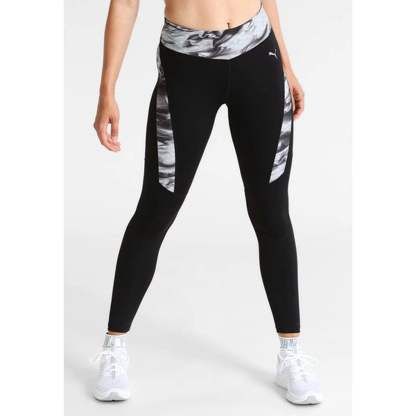 Puma GRAPHIC Legginsy puma black PU141E077
