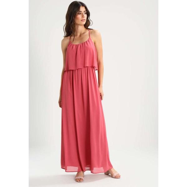 TOM TAILOR DENIM Długa sukienka slate rose TO721C03U