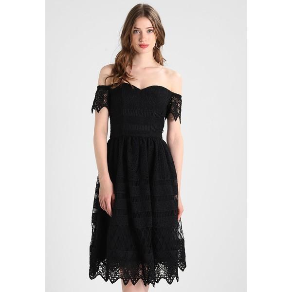 Chi Chi London Tall ROUGIA Sukienka letnia black CHC21C01J