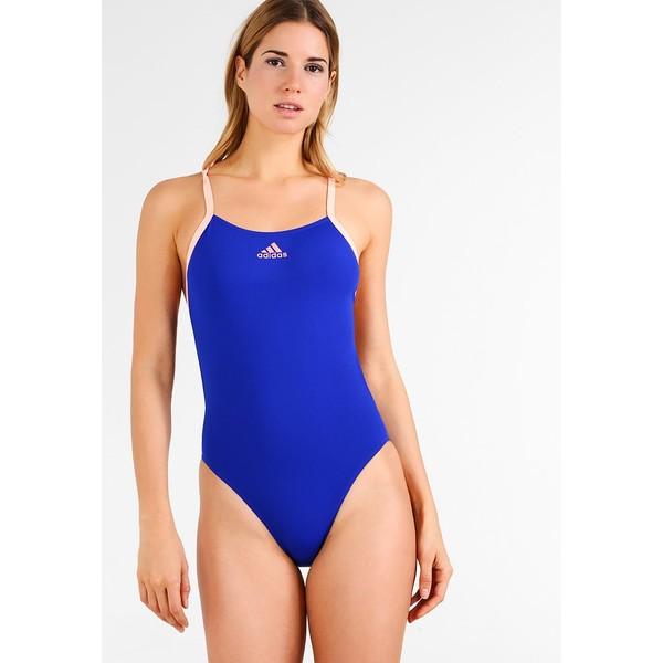 adidas Performance SWIM INF+ Kostium kąpielowy light blue AD581G00D