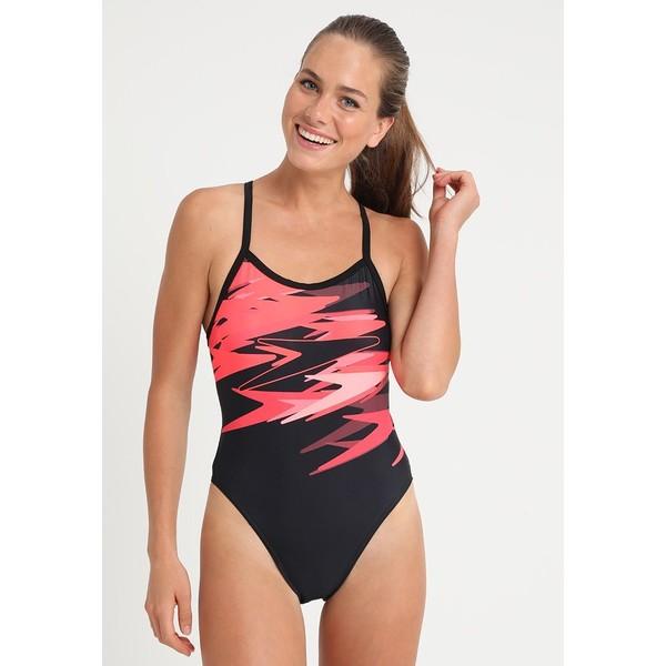 Speedo BOOM Kostium kąpielowy black/red 1SP81G02N