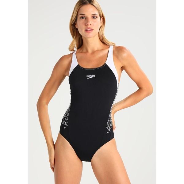 Speedo BOOM Kostium kąpielowy black/white 1SP81G00G
