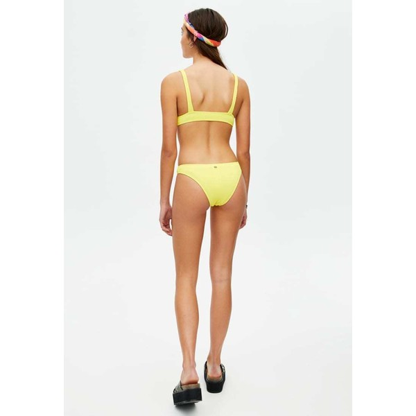 PULL&BEAR Góra od bikini neon yellow PUC81J00B