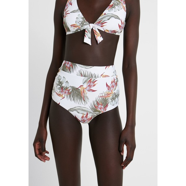 Rip Curl LOLOMO HI CUT CHEEKY PANT Dół od bikini white RI781I01P